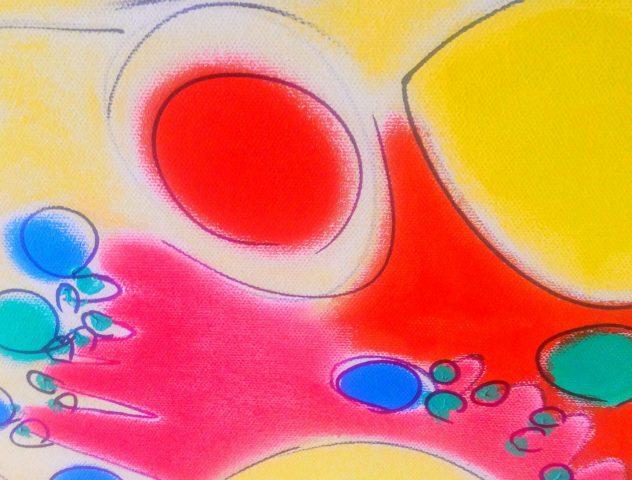 Retorno al Color Técnica mixta sobre tela Tamaño: 150x200cms VENDIDA