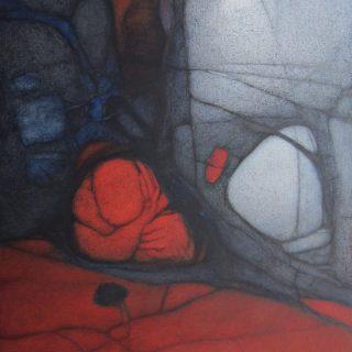 Sonata para un Voyerista | Óleo sobre tela, 150 x 100 cm | $19.000.000